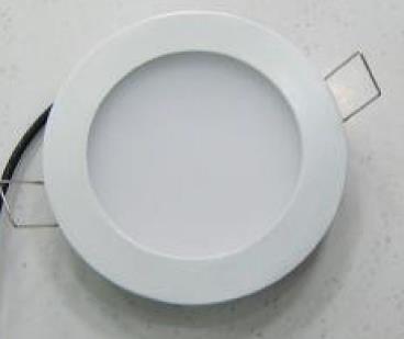 6 Watt Led Flat Panel Light White Face Led Lighting Designs