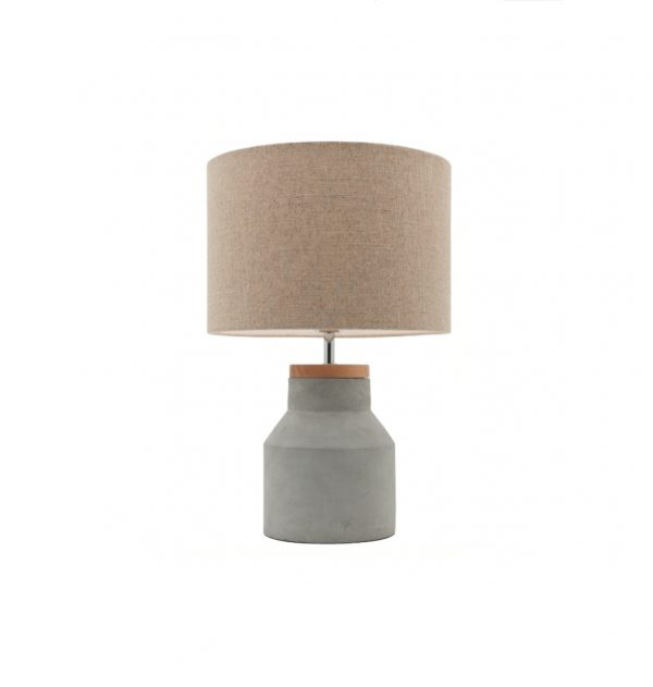 concrete table lamp. Concrete Table Lamp