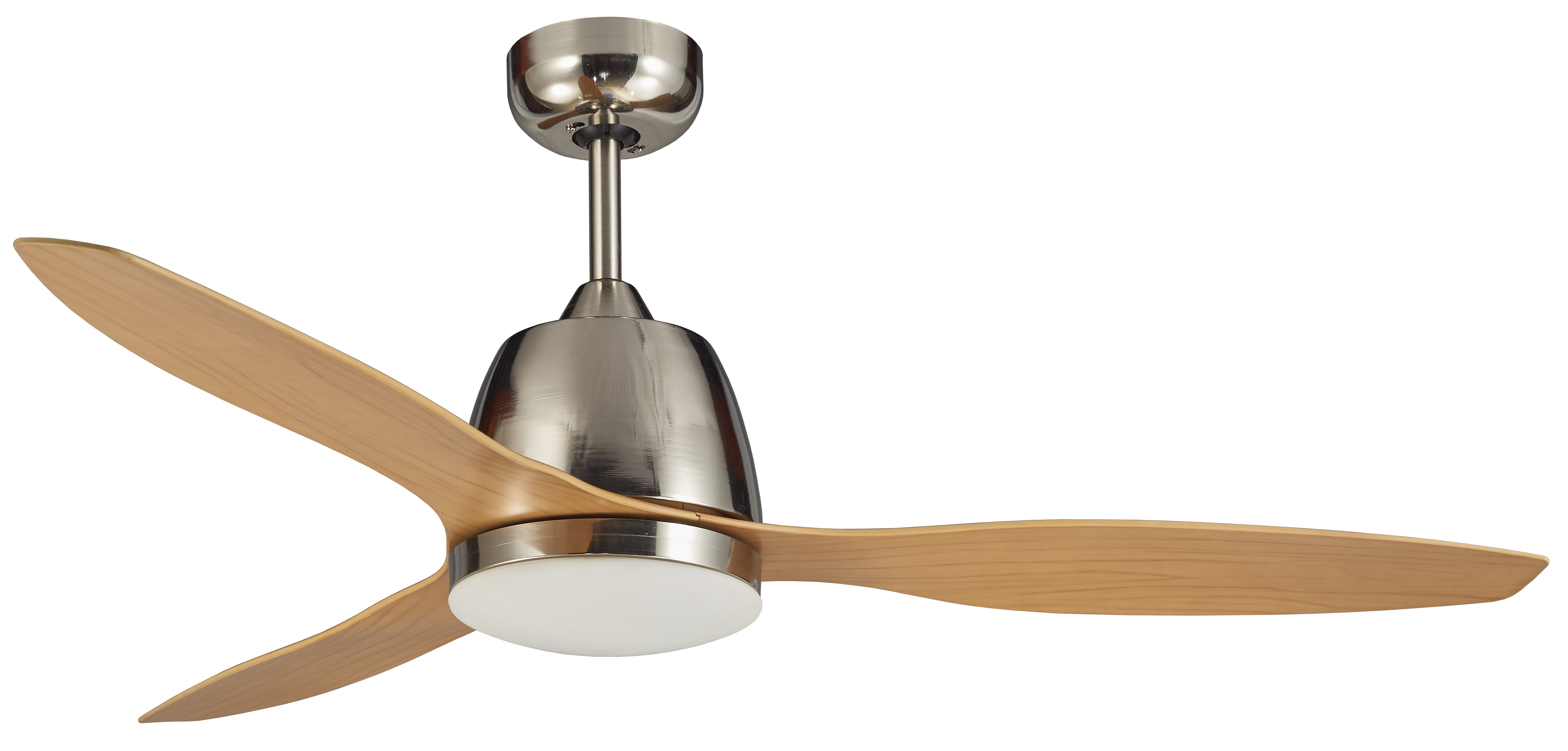 Martec Brushed Nickel Bamboo 1200mm 48 Quot Ceiling Fan With