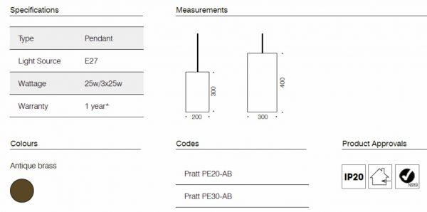 Pratt dimensions