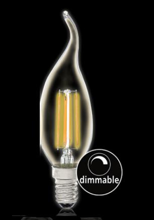 e14 Lamp Flame v1