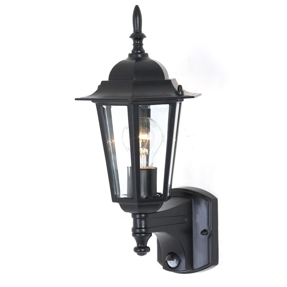 Mercator MX4011 Tilbury Outdoor Wall Light Black E27 IP44