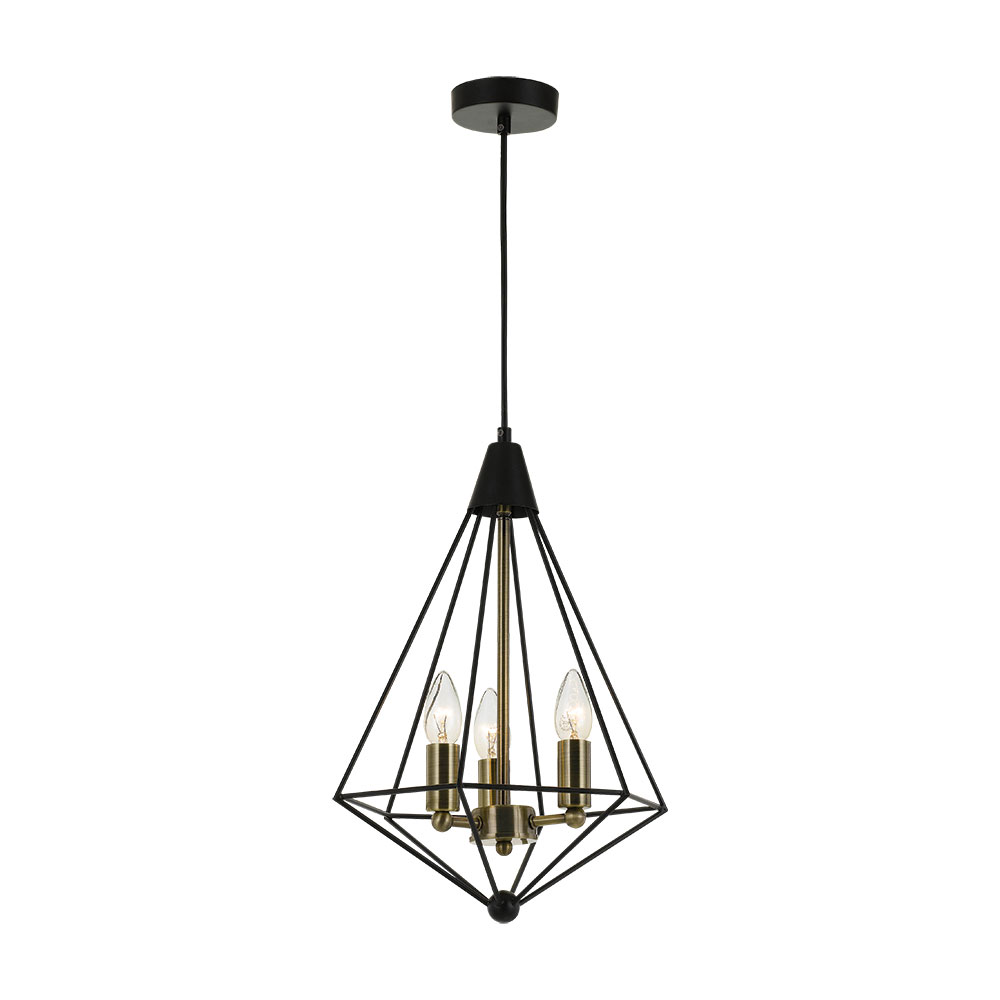 Telbix Delgany 3 Size Pendant Led Lighting Designs