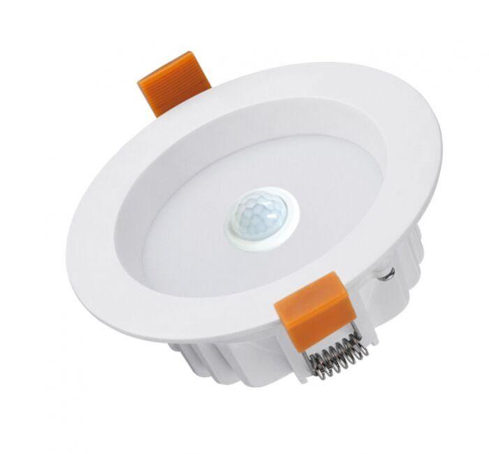 uk availability f4f5f 27add CLA Motion3 10W 5000K LED Motion Sensor Downlight