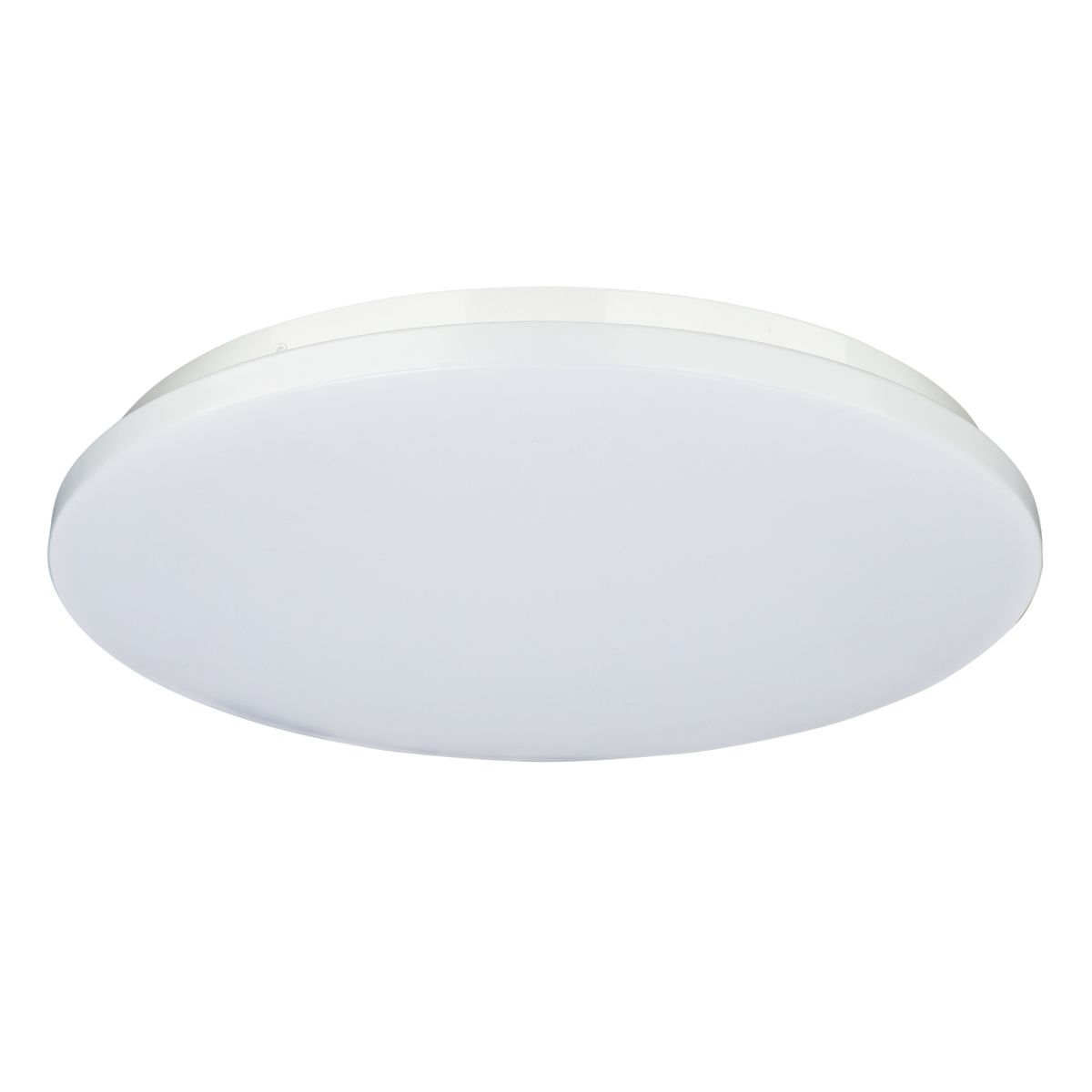 18w 200mm Ip54 Led Oyster Dimmable Natural White 4000k
