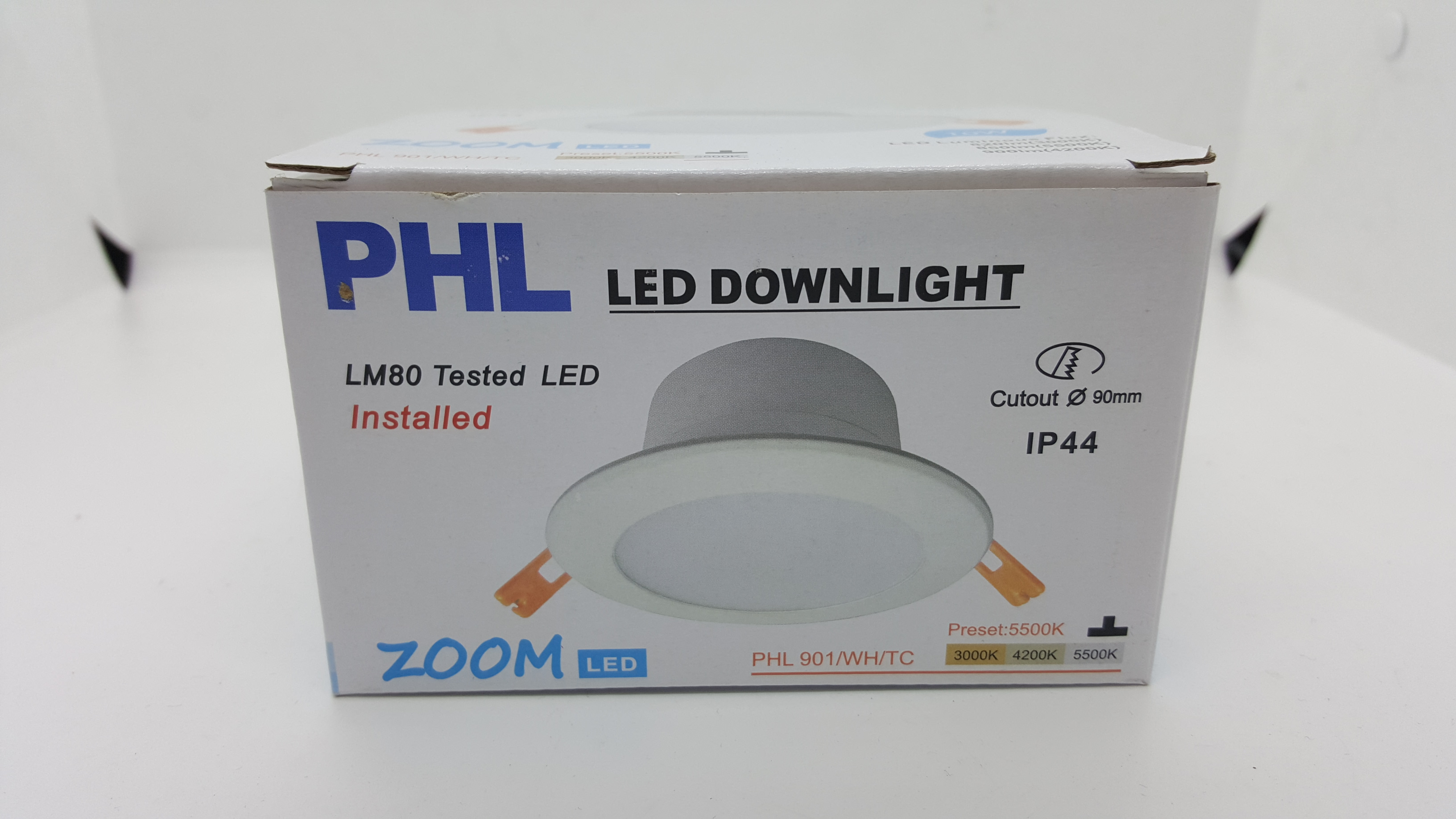 10w Phl Tri Colour Led Downlight Cool Or Warm Or White