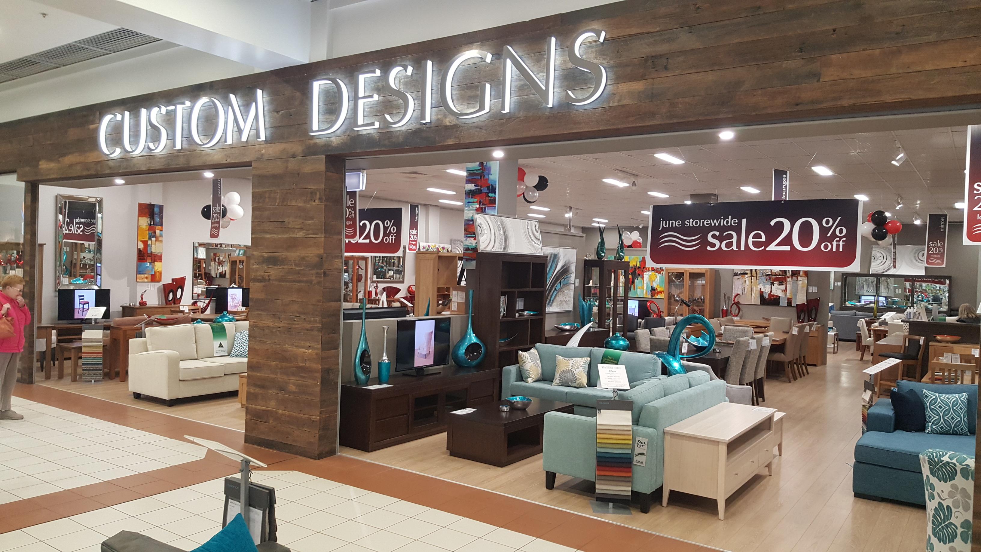 Custom Designs Furniture
