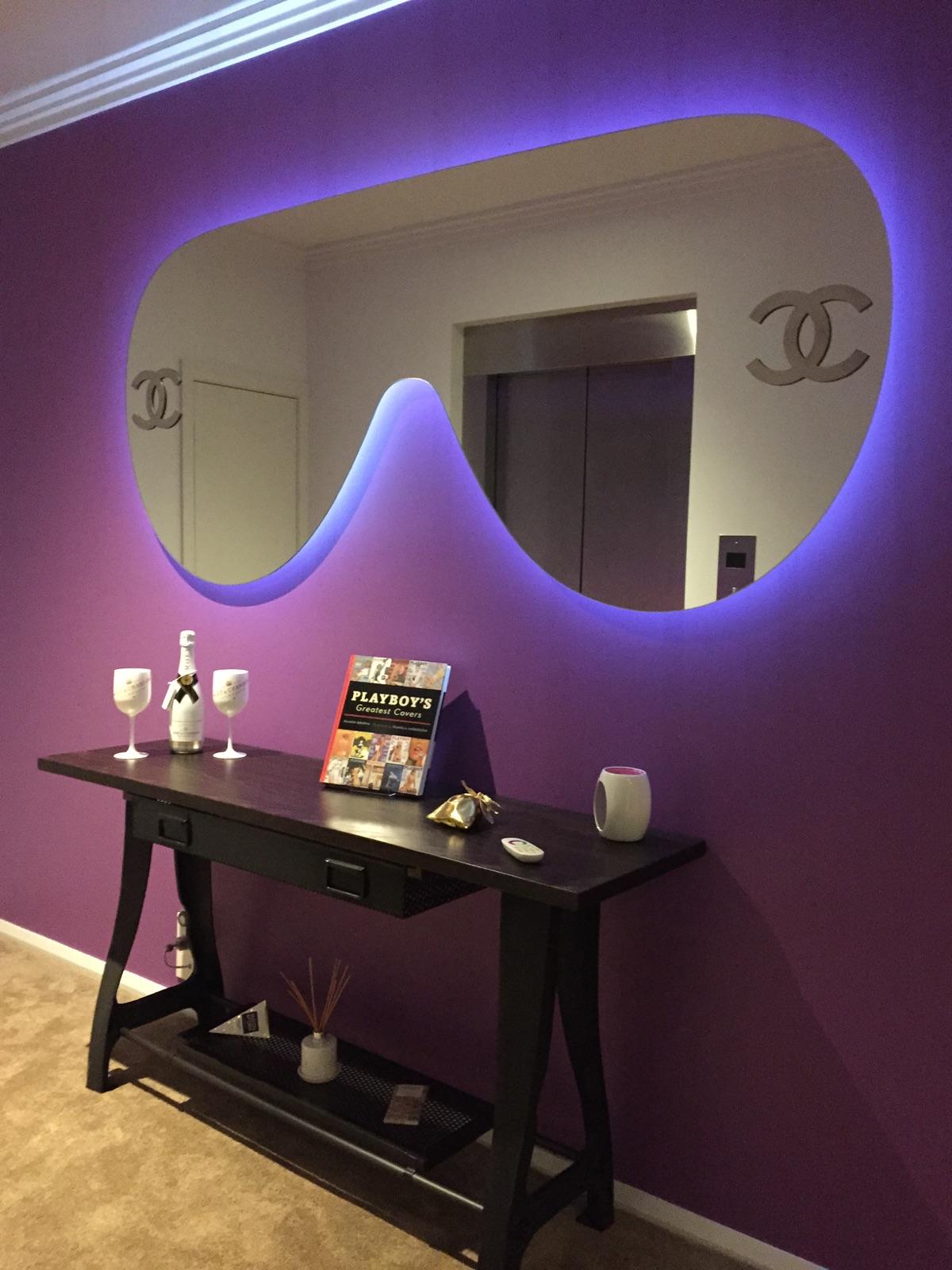 Chanel glasses LED Backlit