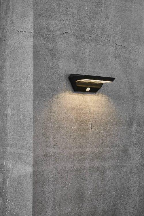 Agena Solar Wall Light Application